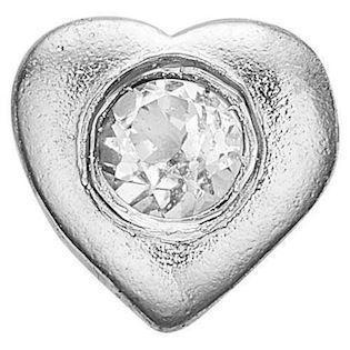 Topaz Heart 925 sterling sølv  Collect urskive pynt smykke fra Christina Collect